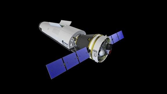 Der Raumtransporter Space Rider