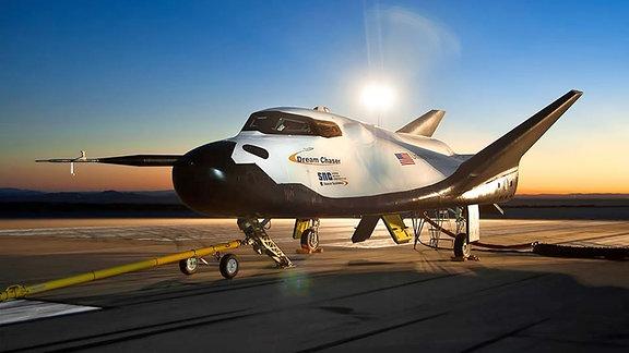 Der Raumgleiter Dream Chaser (Traumjäger) der US-Firma Sierra Nevada