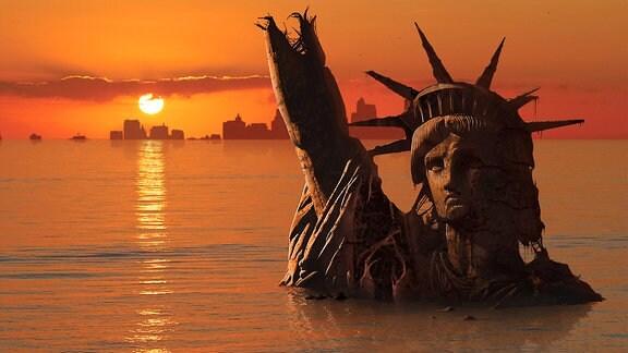 überschwemmtes New York