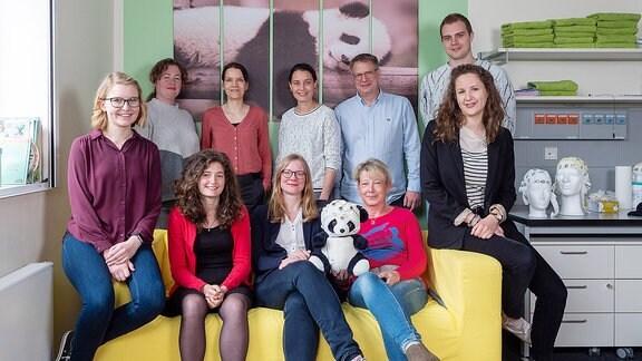 Die Forschungsgruppe Neurokognitive Entwicklung des Leibniz-Instituts für Neurobiologie Magdeburg.