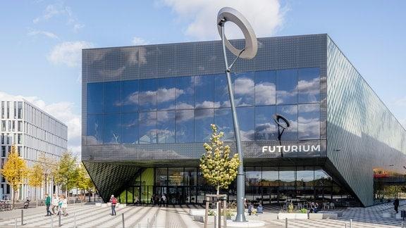 Außenansicht des Futuriums in Berlin.