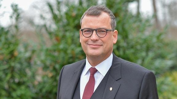Der neue Präsident der Leopoldina Gerald Haug