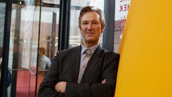 Gerhard de Haan, Leiter des Instituts Futur an der Freien Universität Berlin, im Portrait.