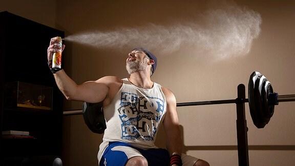 Geruch beim Sport