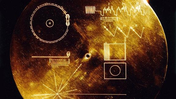 Goldene Schallplatte / Gebrauchsanweisung