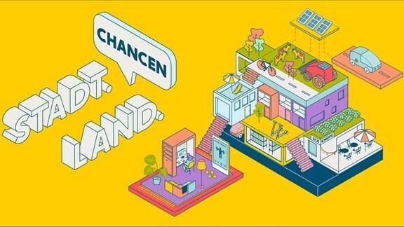 Grafik Studie Stadt Land Chancen
