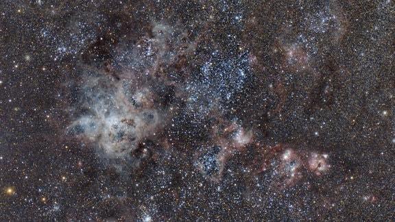 Große Magellansche Wolke von Namibia aus gesehen, 2017