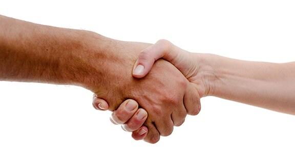 Händeschütteln