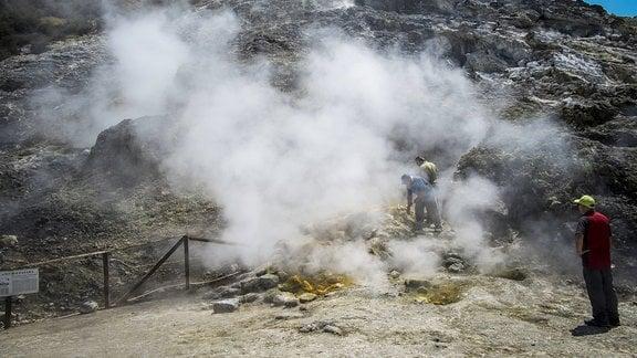 Vulkanmessung Pozzuoli