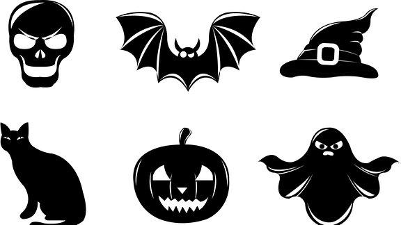 Halloween-Motive