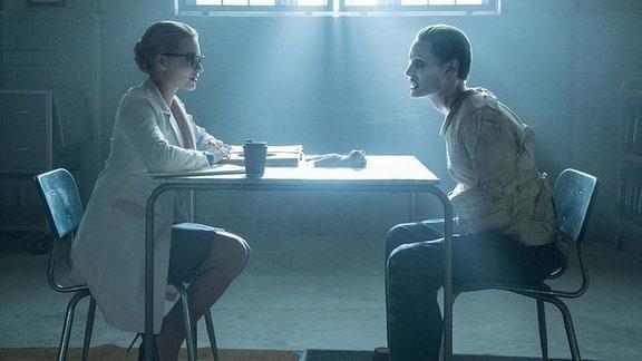 Harley Quinn und der Joker während der Behndlung im Arkham Asylum