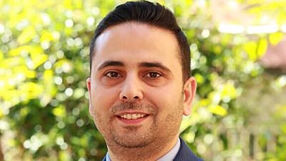 Der Mediziner Dr. Hassan Zaraket