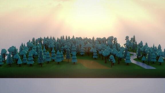 Hektar Wald in Thüringen