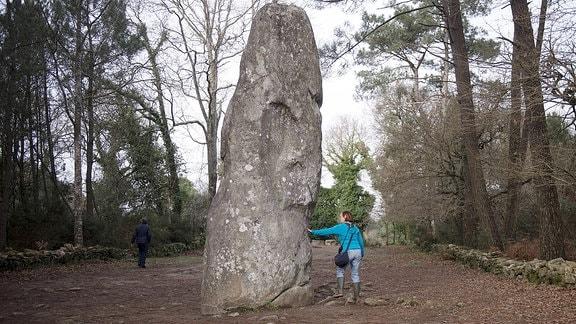 Neolithischen Megalithkultstätte.