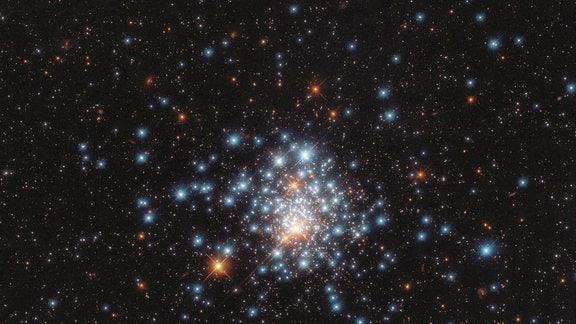 Eine handvoll Sterne NGC 180 / Hubble Kalender - Februar
