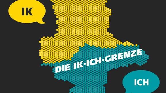 Eine Karte zeigte die Ik-ich-Greenze in Sachsen-Ahalt