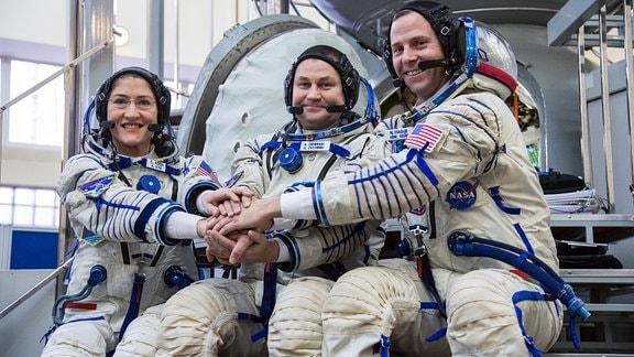Astronautin und Astronauten