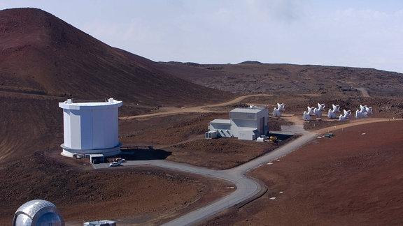 James Clerk Maxwell Telescope auf Hawaii