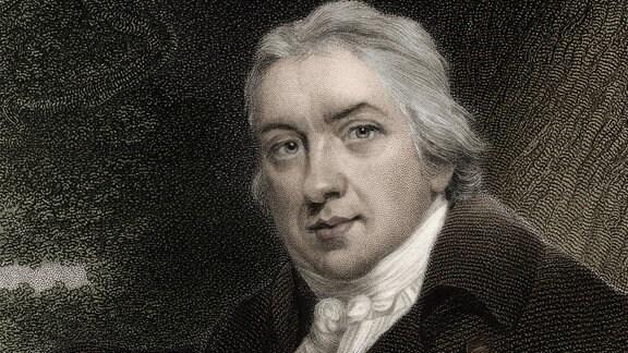 Edward Jenner, Radierung
