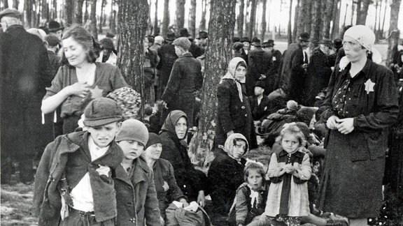 Ankunft ungarischer Juden in Auschwitz-Birkenau