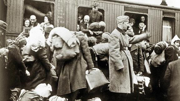 Deportation deutscher Juden nach Riga