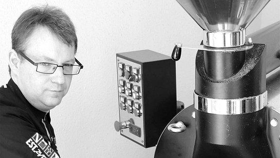 Kaffee-Röstmaschine