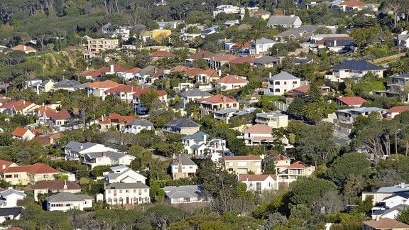 Luxuriöse Wohngegend in Kapstadt