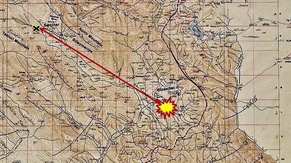 Karte Meteorit
