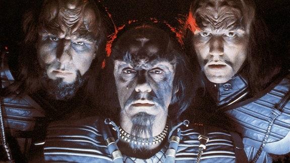 Christopher Lloyd als Klingonen-Kommandant Kruge in Star Trek III - Auf der Suche nach Mr. Spock, 1984