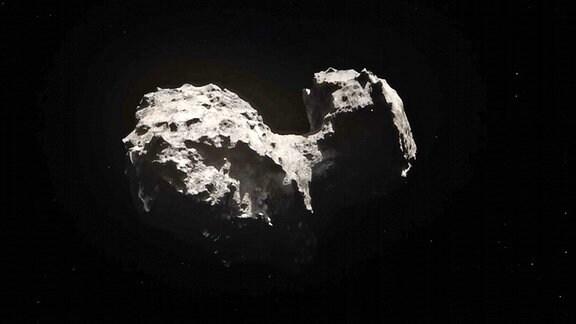 Animation des Kometen 67P/Churyumov–Gerasimenko