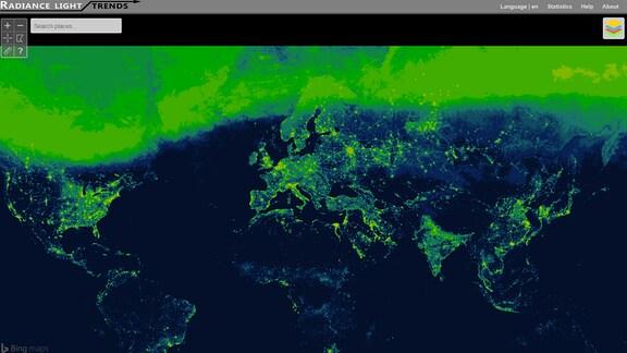 Lichtverschmutzung Karte 2019.Weltweite Lichtverschmutzung Nimmt Zu Mdr De