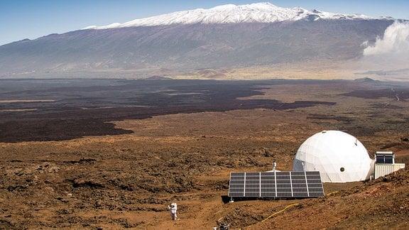 Mars-Basis am Mauna Loa Hawaii