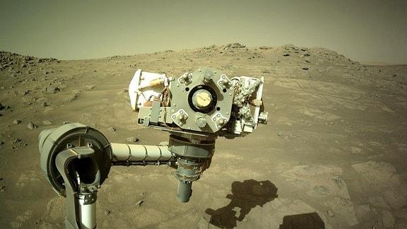 Selfie vom Mars-Rover Perseverance