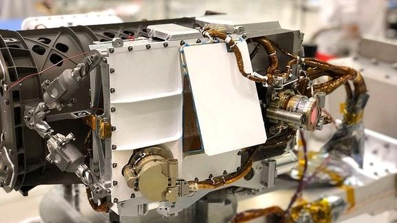 Sherloc Instrument auf dem Mars Rover 2020