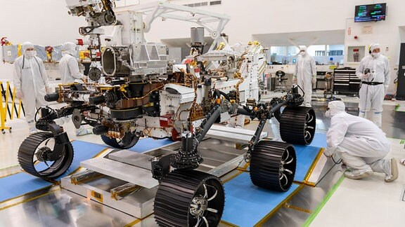 Nahaufnahme Mars Rover 2020 Perseverance