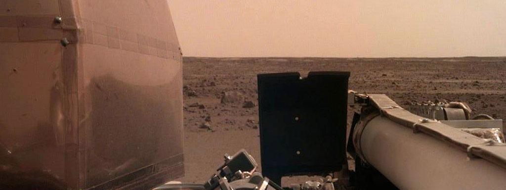 Nasa Sonde Insight Auf Dem Mars Gelandet Mdrde