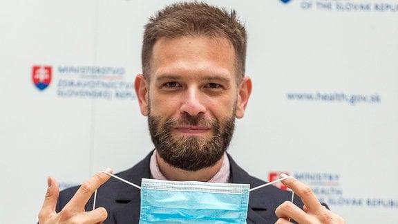 Martin Pavelka, slowakischer Epidemiologe