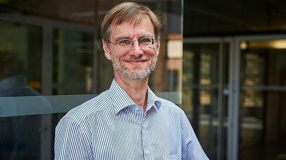 Prof. Martin Pietzsch von der Uni Halle