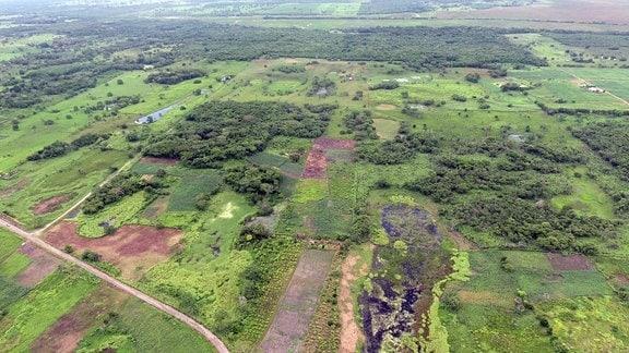 Die frühere Maya-Stätte im heutigen mexikanischen Bundesstaat Tabasco