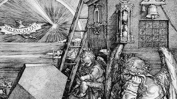 Albrecht Dürer: Melencolia I