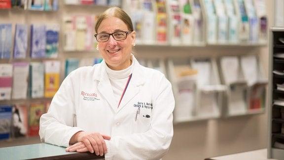 Porträtaufnahme von Gloria Bachmann, Direktorin des Women's Health Institute an der Rutgers Robert Wood Johnson Medical School