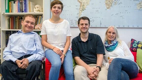 Ein Forscherteam der Uni Bochum.