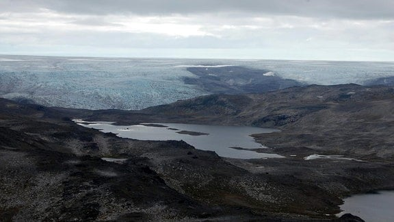 Meta-Basalt des Isua-Suprakrustengürtels in Südwest-Grönland