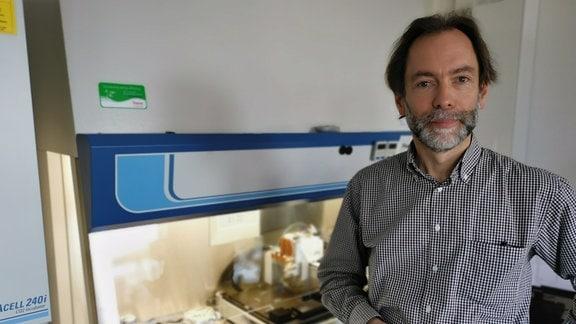 Prof. Michael Gelinsky, Leiter des Biodruck-Labors an der TU Dresden.