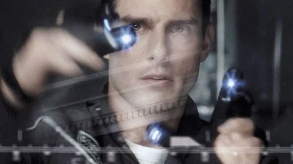 Filmszene - Minority Report  - Tom Cruise