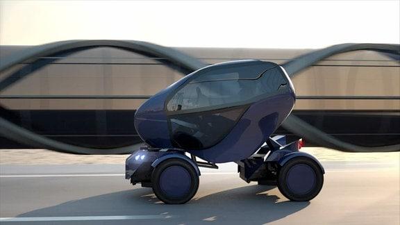 Ein Elektroauto