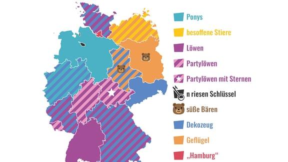 """Motive der Bundeländer-Wappen aus """"Spaß mit Flaggen"""""""