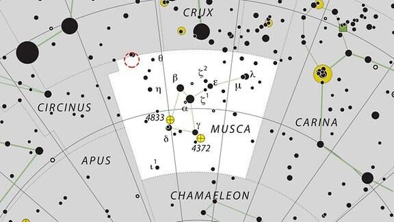 Lage von TYC 8998-760-1 im Sternbild Musca