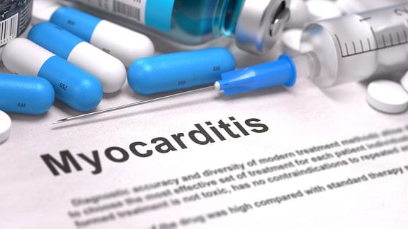 blauen Pillen, Injektionen und Spritze