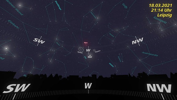 Nachthimmel 2021-03-18